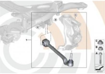 Repair kit for wishbone