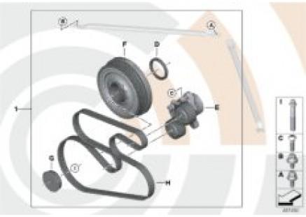 Repair kit vibration damper