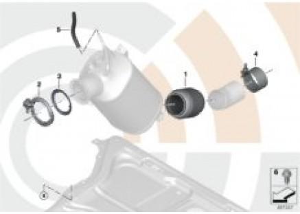 Repair kit decoupling element