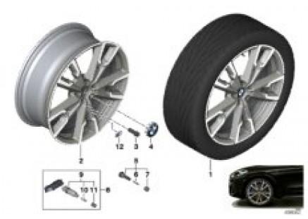 BMW LA wheel M V-spoke 721M - 20