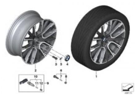 BMW LA wheel star spoke 817M - 20