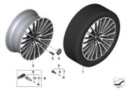 BMW LA wheel multi-spoke 777 - 20