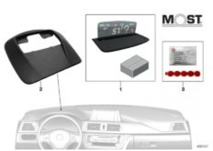 BMW Head-Up Screen f.built-in navigation