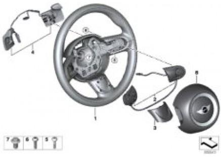 Sport steer.wh.airbag, MF, shift paddles