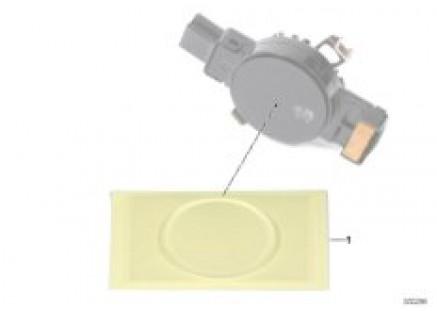 Silicone repl.sm.plates, low beam sensor