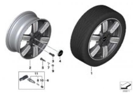 MINI LA wheel 60 years Spoke 525 - 17¿
