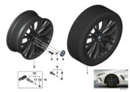 BMW LA wheel M double spoke 786M - 19