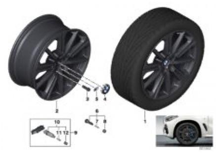 BMW LA Wheel M star spoke 748M - 20