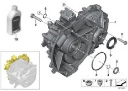 E-transmission / mount