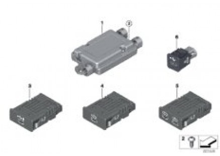 USB separate components