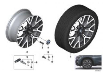BMW light alloy wheel Y-spoke 580 - 19