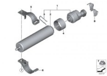 Fuel strainer with heating